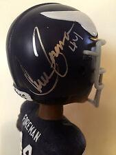 Chuck Foreman, MN. Vikings NFL Legend SIGNED Bobblehead Ltd. Ed. RARE W/COA