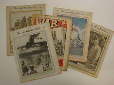 War Illustrated Sample Bundle, 5 Random Issues (Original WW2 Newspaper, 1939-46)