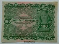 Autriche. 100 Kronen Pick 77 qualité SPL