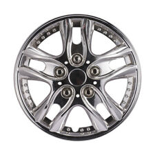 4pcs/ Set 12 inch Car Chrome Wheel Rim Skin Cover Hub Caps Hubcap Wheel Cover US