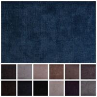 Luxury Plain Fire Retardant Velvet Chenille Sofa Seating Upholstery Fabric