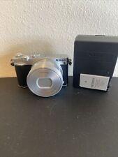 Nikon 1 J5 20.8MP Digital Camera - Silver with 10-30mm Lens