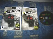 WII : NEED FOR SPEED : PROSTREET - Completo, ITA ! Compatibile Wii U