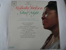 SONGS FOR CHRISTMAS MAHALIA JACKSON SILENT NIGHT VINYL LP 1962 COLUMBIA MONO