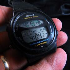W-60U CASIO WORLD TIME QUARTZ MEN WATCH
