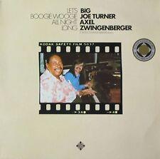 Big Joe Turner & Axel Zwingenberger - Let's Boogie Woogie All Night Long (LP)