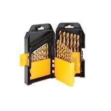 29 Pc. Titanium Nitride Coated Drill Bit Set