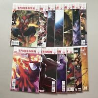 Lot of 13 Ultimate Spider-Man (2009 2nd Series) from #1-13 158 160 VF Very Fine