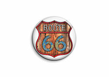 Logo Racers - Route 66 2 - Badge 25mm Button Pin