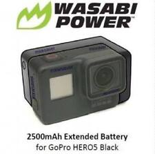 Wasabi Power Extended Battery for GoPro HERO6, HERO 6,HERO 5 Black (2500mAh)