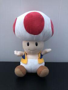 """Super Mario - Toad Plush - 9"""""""