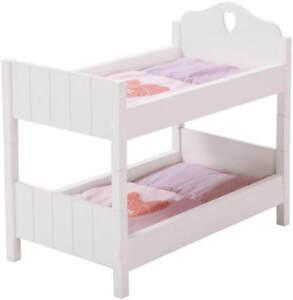 roba Puppenetagenbett Fienchen Etagenbett Bett Puppen Holz