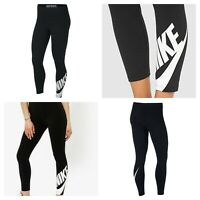 Nike Womens Fitness Leggings sportswear Gym Jogging Bottoms Pants Size XS S M L