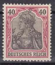 Germany Deutsches Reich 1902 Mi. Nr. 75 40 Pf. Germania Definitive MLH