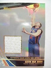 2004 TOPPS BASKETBALL GAME JERSEY KEITH VAN HORNE  KNICKS JE-KVN B54