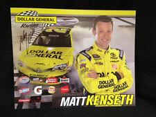 NEW Matt Kenseth 20 Autographed Signed 8 x 10 Hero Card Post Card Dollar General