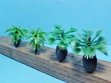 Multi Scale-12 Piece Assortment of Small Bottle Palm Trees-2 Styles in 2 Sizes