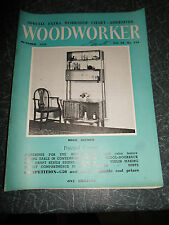 WOODWORKER October 1958 ~ Retro Vintage Illustrated Magazine + Advertising