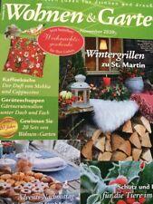 Zeitschrift  -Wohnen und Garten -Burda-  November 2020 einmal gelesen, neuwertig