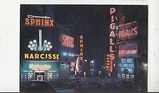 BF19818 la place pigale la nuit paris france front/back image