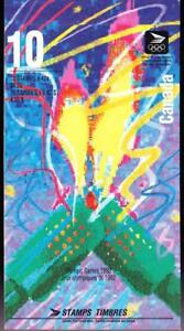 Canada 1992 Booklet #144a Olympic Winter Games right version glued