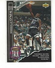 1993-94 UPPER DECK BASKETBALL LOCKER TALK SHAQUILLE O'NEAL #LT3 - ORLANDO MAGIC