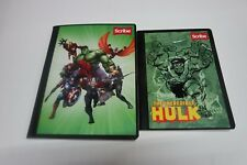 Marvel Avengers Hulk Graphic Composition Notebook With Notepad & Stickers New