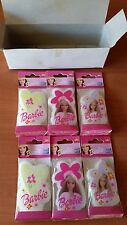 BARBIE CANDLES BARBIE, HEARTS & FLOWERS FOR PARTY, BIRTHDAY CAKE TOPPER 6 COUNT