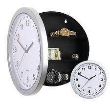 Reloj de Pared nuevo seguro con Secret Stash compartimentos ocultos Dinero Joyas