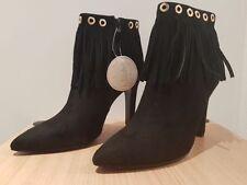 Damenstiefel & -stiefeletten im Boots-Stil ohne Muster mit Reißverschluss Ankle