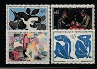 FRANCOBOLLI - 1961 FRANCIA PITTORI MODERNI MNH E/1798