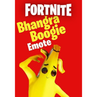 Fortnite Bhangra Boogie Emote - Rare Limited Edition [PC/Xbox/PS4] 24/H Fast