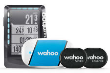 Wahoo Fitness ELEMNT GPS Fahrrad-Computer Bundle incl. RPM Speed Cadence, TICKR