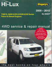 Toyota Hilux 2005-2015 Gregorys Service Repair Workshop Manual Hi-lux