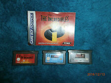 Dynasty Warriors / Ant Bully / The Incredibles (Nintendo Game Boy Advance, 2004)