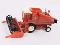 "Vtg International 1460 Combine & Header CNH America Metal Toy Tractor 6"" Rare"