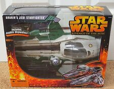 STAR WARS ANAKIN'S JEDI STARFIGHTER REVENGE OF THE SITH WITH FIGURE SEALED