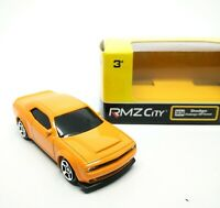 Dodge Challenger SRT Demon Orange Scale 1/64 (Approx 2.5 inches) RMZ City