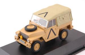 Land Rover Lightweight Soft Top Gulf Guerra 1:43 Model Oxford