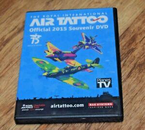 The Royal International Air Tattoo Offical 2015 Souvenir DVD Show UK SELLER VGC