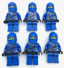 LEGO 6 BLUE NINJA MINIFIGURES NINJAGO FIGURE PEOPLE