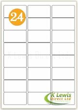 x100 24 per A4 Printer Labels Self Adhesive Stickers L7159 – J8159
