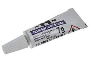 High Quality Heat SILICONE paste-Thermo-conductive grease 7g tube C055