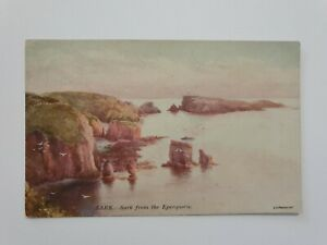 Vintage Postcard 1919 - Sark From Eperquerie, Channel Islands- Signed
