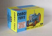 Repro Box Corgi Nr. 55 Fordson Power Major Tractor