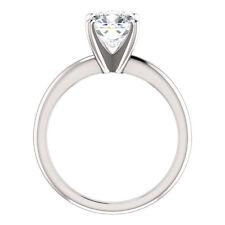 Platinum 1.50 Ct Round Cut Diamond Solitaire Ring H,VVS2 GIA Brand NEW made USA
