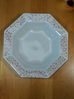 """INDEPENDENCE IRONSTONE BY Interpace Japan 8"""" Rimmed Soup Bowl """"Mary Jane"""" EUC"""