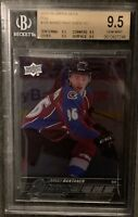 2015-2016 Mikko Rantanen UPPER DECK YOUNG GUNS FOIL ROOKIE RC BGS 9.5 PSA 10? B