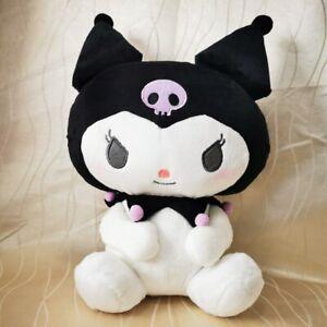 Kwaii Cute SANRIO Classic Kuromi 34cm Stuffed Plush Stuffed toys Anime Soft doll