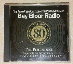 Denon/Bay Bloor Radio '80th Anniversary' Sampler (CD, 1990)VERY SUPER RARE DENON